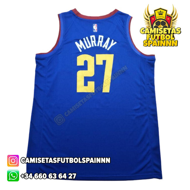 Camiseta Jamal Murray 27 Denver Nuggets Mile High City