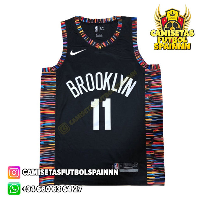 Camiseta Kyrie Irving 11 Brooklyn Nets Local Bed Stuyvesant