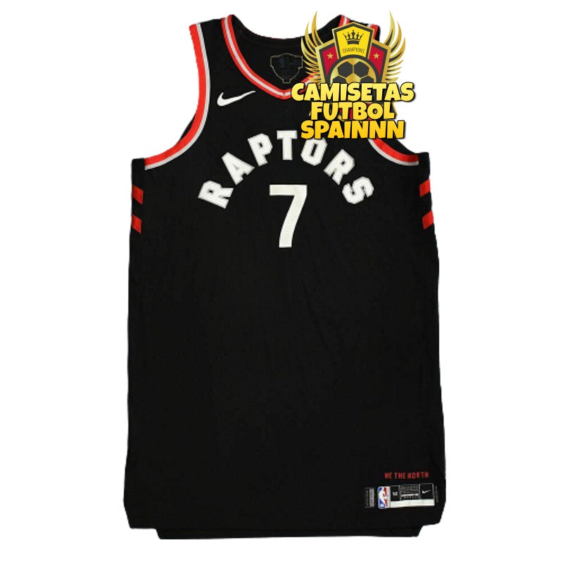 Camiseta Kyle Lowry 7 Toronto Raptors Alternativa