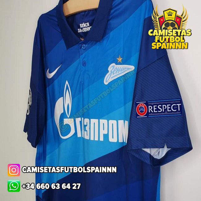 Camiseta Zenit San Petersburgo 20-21 Local
