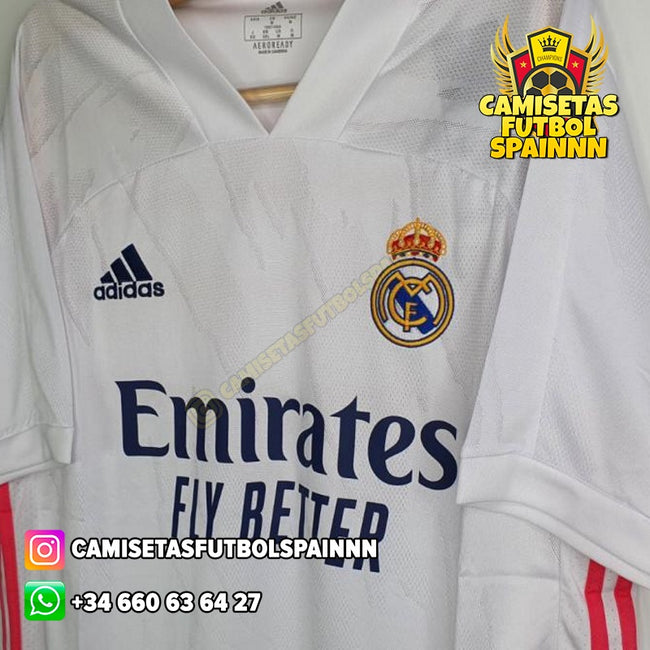 Camiseta Real Madrid 20-21 Local