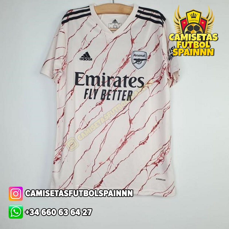 Camiseta Arsenal 20-21 Visitante