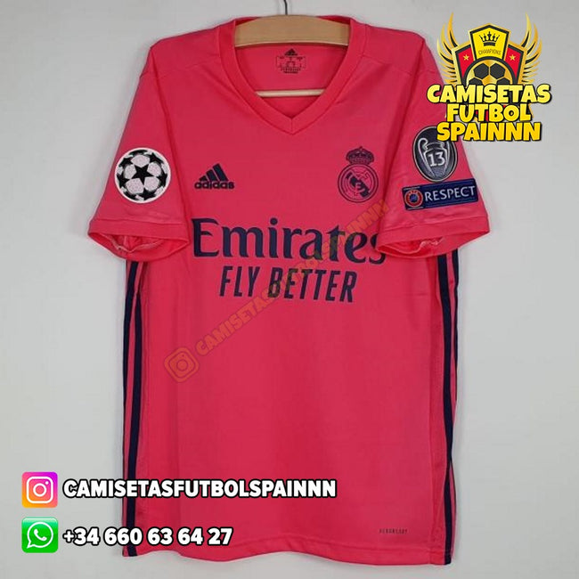 Camiseta Real Madrid 20-21 Visitante