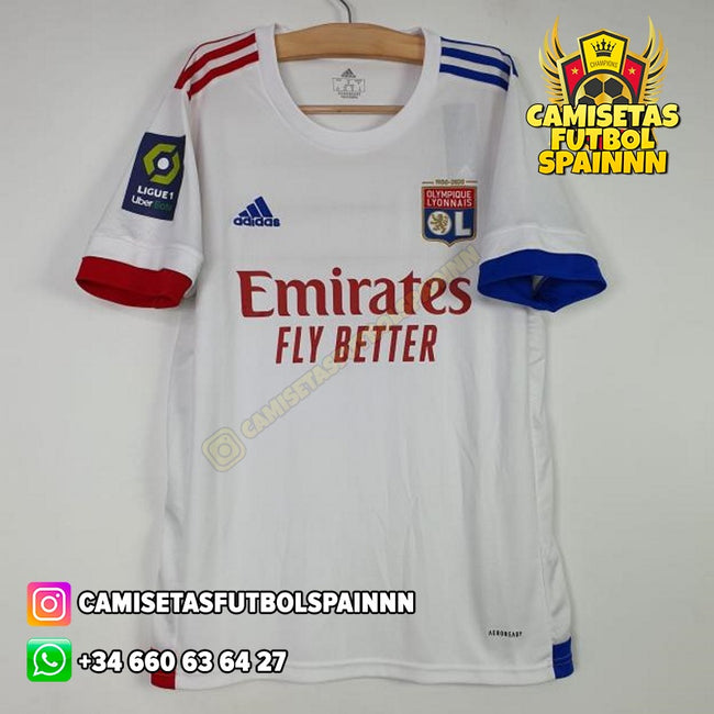 Camiseta Olympique de Lyon 20-21 Local