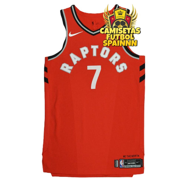 Camiseta Kyle Lowry 7 Toronto Raptors Local