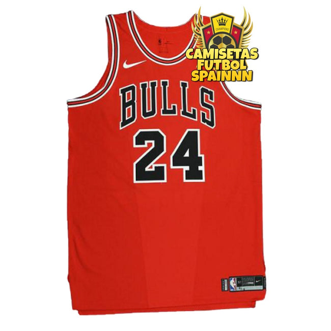 Camiseta Lauri Markkanen 24 Chicago Bulls Local