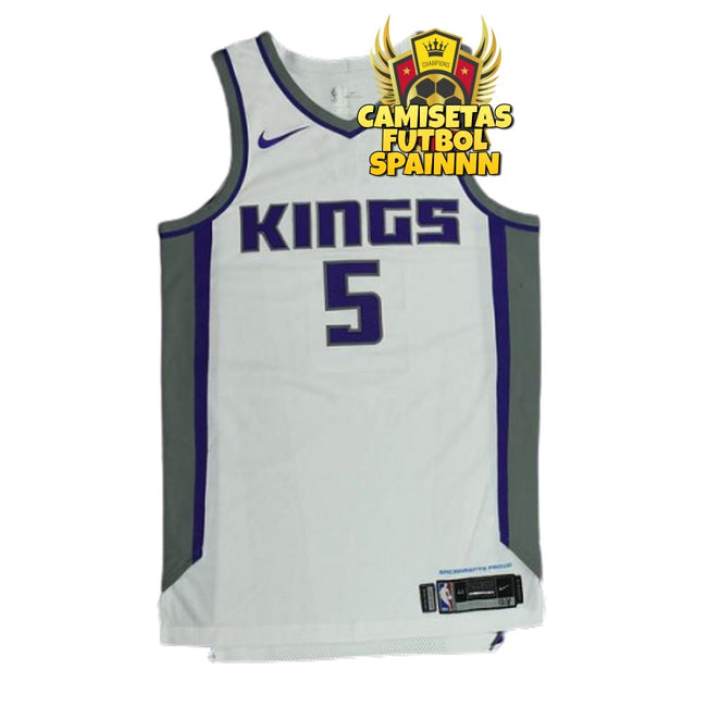 Camiseta De'Aaron Fox 5 Sacramento Kings Local