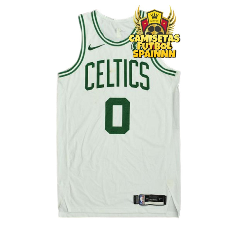 Camiseta Jayson Tatum 0 Boston Celtics Visitante
