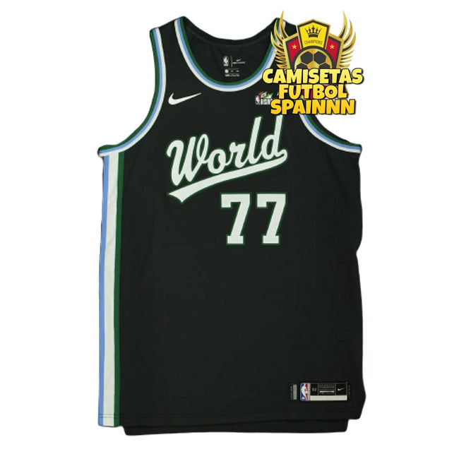 Camiseta Luka Doncic 77 All Stars World Team Visitante
