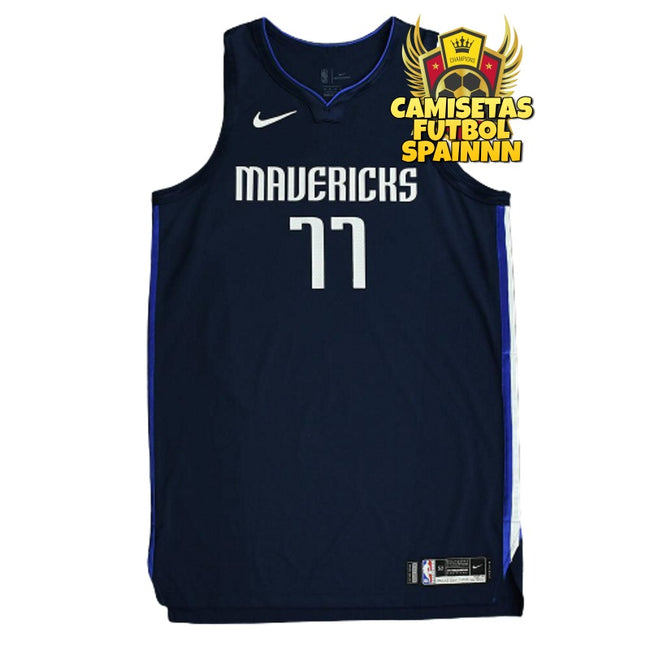 Camiseta Luka Doncic 77 Dallas Mavericks Visitante