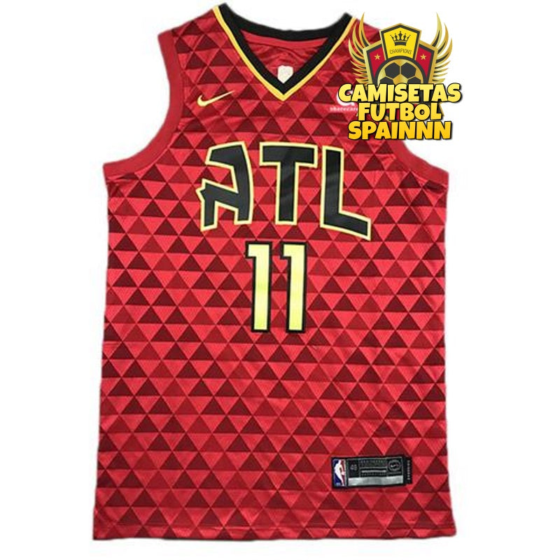 Camiseta Trae Young 11 Atlanta Hawks Local