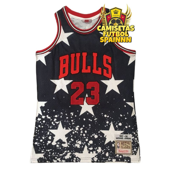 Camiseta Michael Jordan 23 Chicago Bulls All Star Classic Retro
