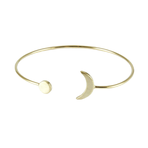 Bangle luna oro
