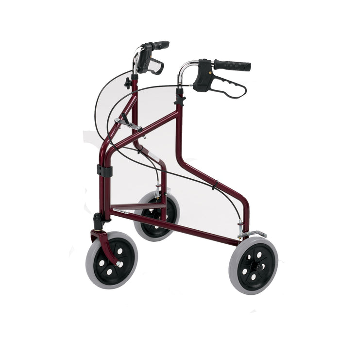 Roma Tri-Wheel Walker with Loop Brakes