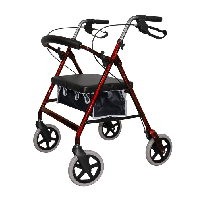 Roma Heavy Duty 4 Wheeled Bariatric Walker