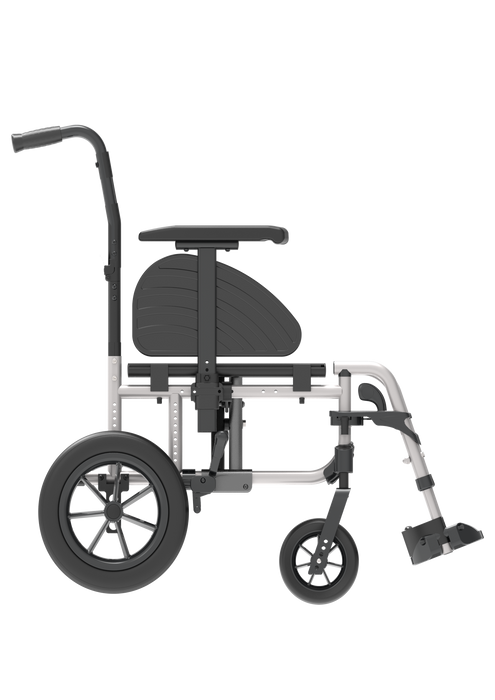 Rehasense Icon 30i TR Transient Propelled Wheelchair - Silver