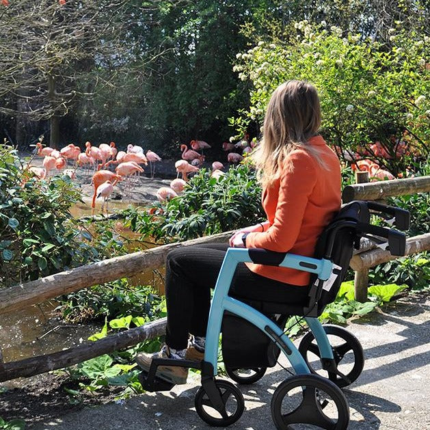 Rollz Motion wheelchair and rollator all in one combined