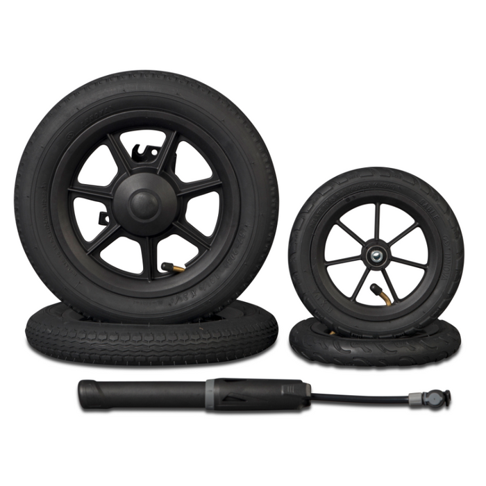 Rollz Motion Rollator Set of 4 Air Wheels Tyres