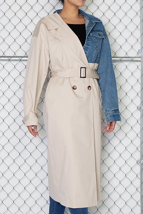 Mack Ave. Trench Coat