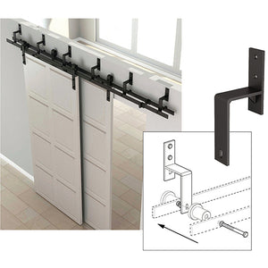 Barn Door By-Pass Brackets