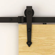 Load image into Gallery viewer, Rustic Barn Door Brackets