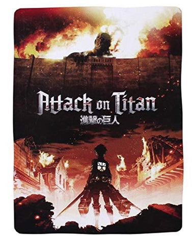 "Attack on Titan Velvetten Poster Throw Blanket 50""x60"""
