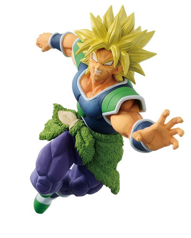 BANPRESTO Super Saiyan Broly Dragonball Super Broly Match Makers 18 cm Figure