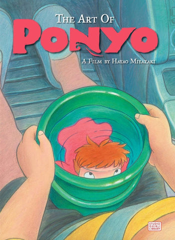 Art Book - The Art of Ponyo (Hard Cover)