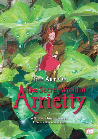 Art Book - The Secret World of Arrietty - (Hard Cover)