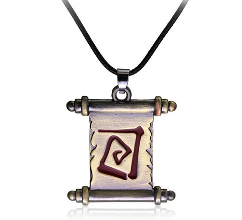Dota 2 - Town Portal Wall Scroll Necklace