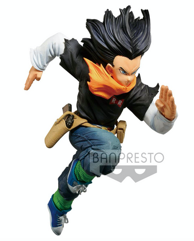 Dragon Ball Z World Figure Colosseum Android 17 Statue