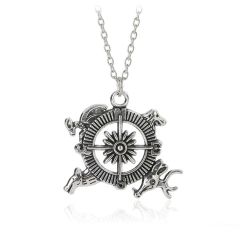 Game of Thrones - Westeros Compass - Necklace