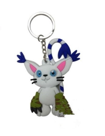 Gatomon Keychain