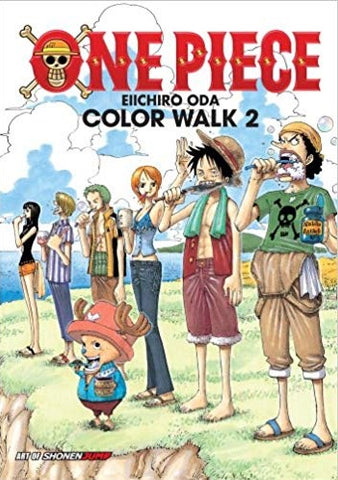One Piece Eiichiro Oda's Color Walk 2 (Soft Cover)
