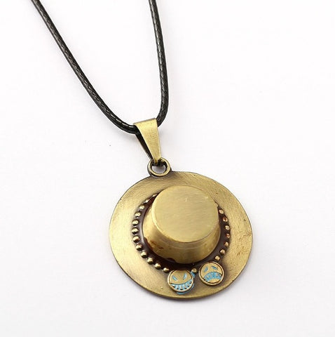 ONE PIECE - Ace Hat Necklace