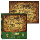 The Legend Of Zelda Map Of Hyrule Collector's Puzzle (550 Piece)