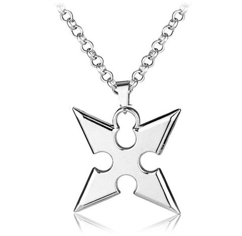 KINGDOM OF HEARTS - Cross Necklace