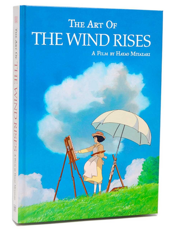 Art Book - The Wind Rises - (Hard Cover)