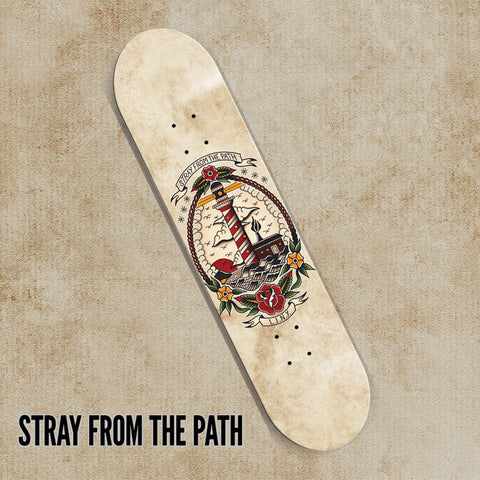 Stray From The Path skate deck #2