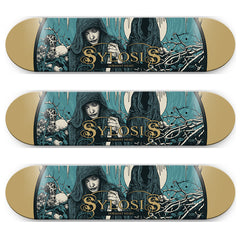Sylosis skate deck (almost gone)
