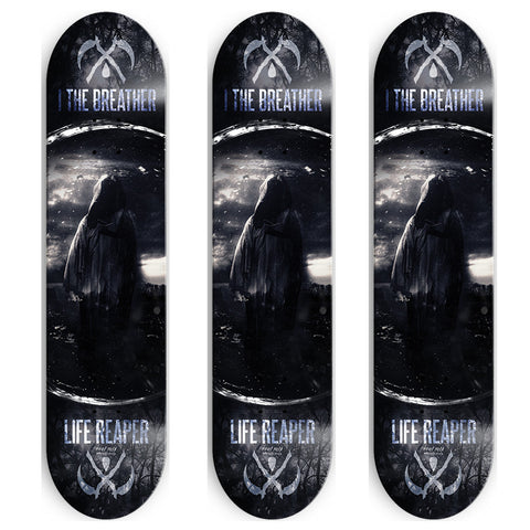 I, The Breather skate deck