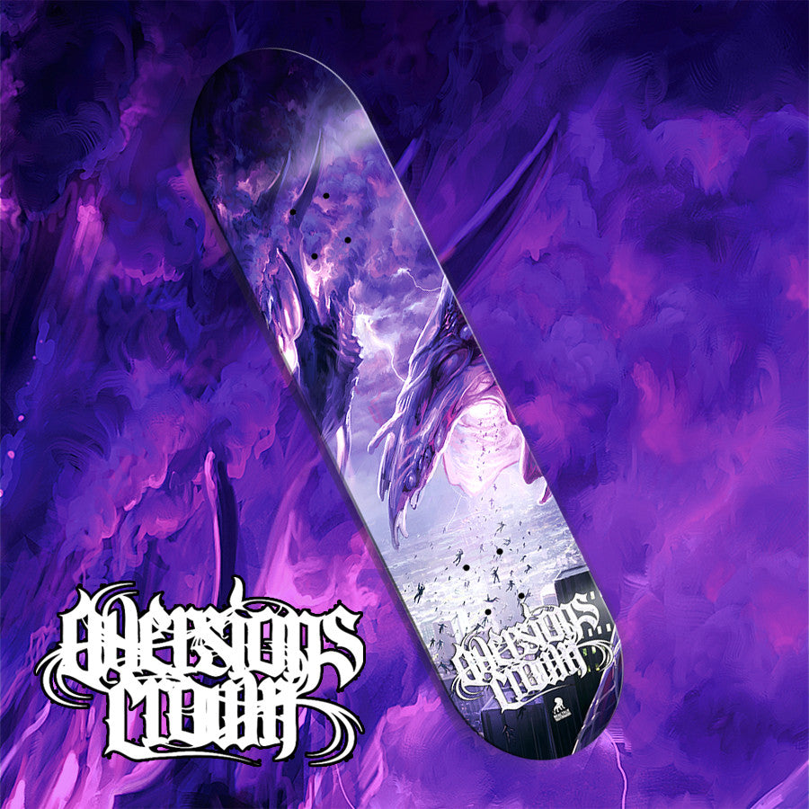 Aversions Crown skate deck