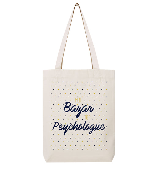 Tote bag Bazar Psychologue - Comptoir des Ostéos