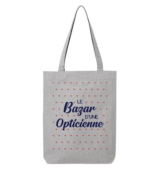 Tote bag Bazar coeur Opticienne - Comptoir des Ostéos