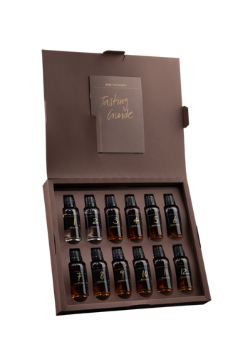 RUM TASTING Box D / F 12 x 3 cl / 41.9 % - Party-Trends der Shop mit den coolsten Produkten für deine Party