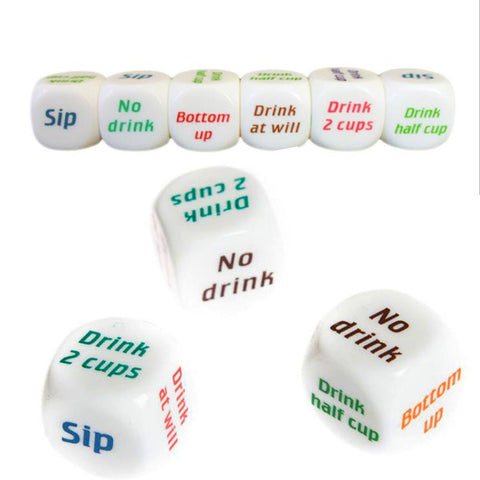 Hot Adult Party Game Playing Drinking Wine Mora Dice Games Gambling Drink Decider Dice Wedding Party Christmas Decoration suppli - Party-Trends der Shop mit den coolsten Produkten für deine Party