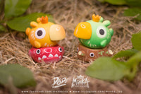 DODO Bird Leaf Green and Red Fish Set