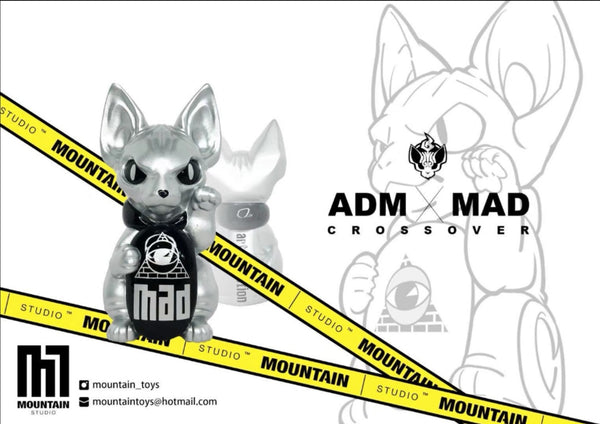 ADM X MAD Fortune Cat