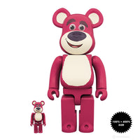 Toy Story Lots-o'-Huggin' Bear 100% + 400% Bearbrick Set
