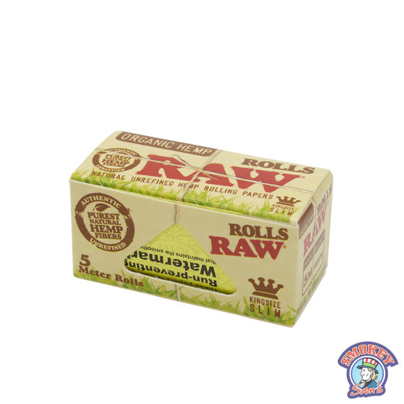 RAW King Size Organic Hemp Rolls